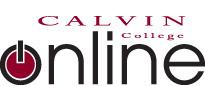 Calvin College Online logo