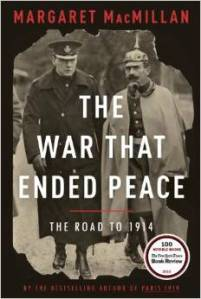"cover of ""The War that Ended Peace"""