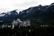 Banff National Park Hotel bleached
