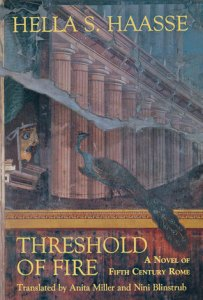 Cover of the book depicting a peacock next to a Roman temple.