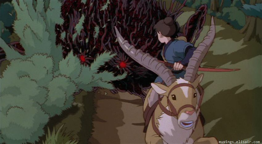 Princess Mononoke And History Historical Horizons