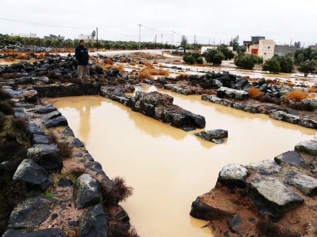 Ancient water reservoir restored