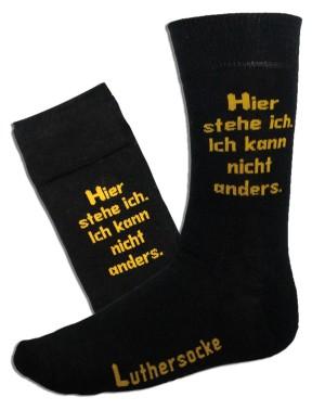 A trend in footwear 303550_luthersocke_schwarz