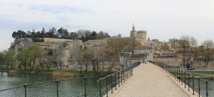 Photograph of the city of Avignon